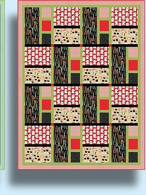 QUILT POETRY ZIPPY COMBO PATTERN