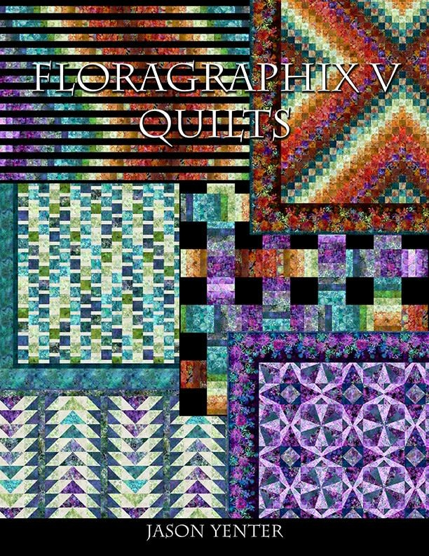 FLORAGRAPHIX V QUILTS BY JASON YENTER