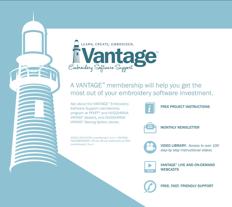 SVP Vantage Software Support 1 year