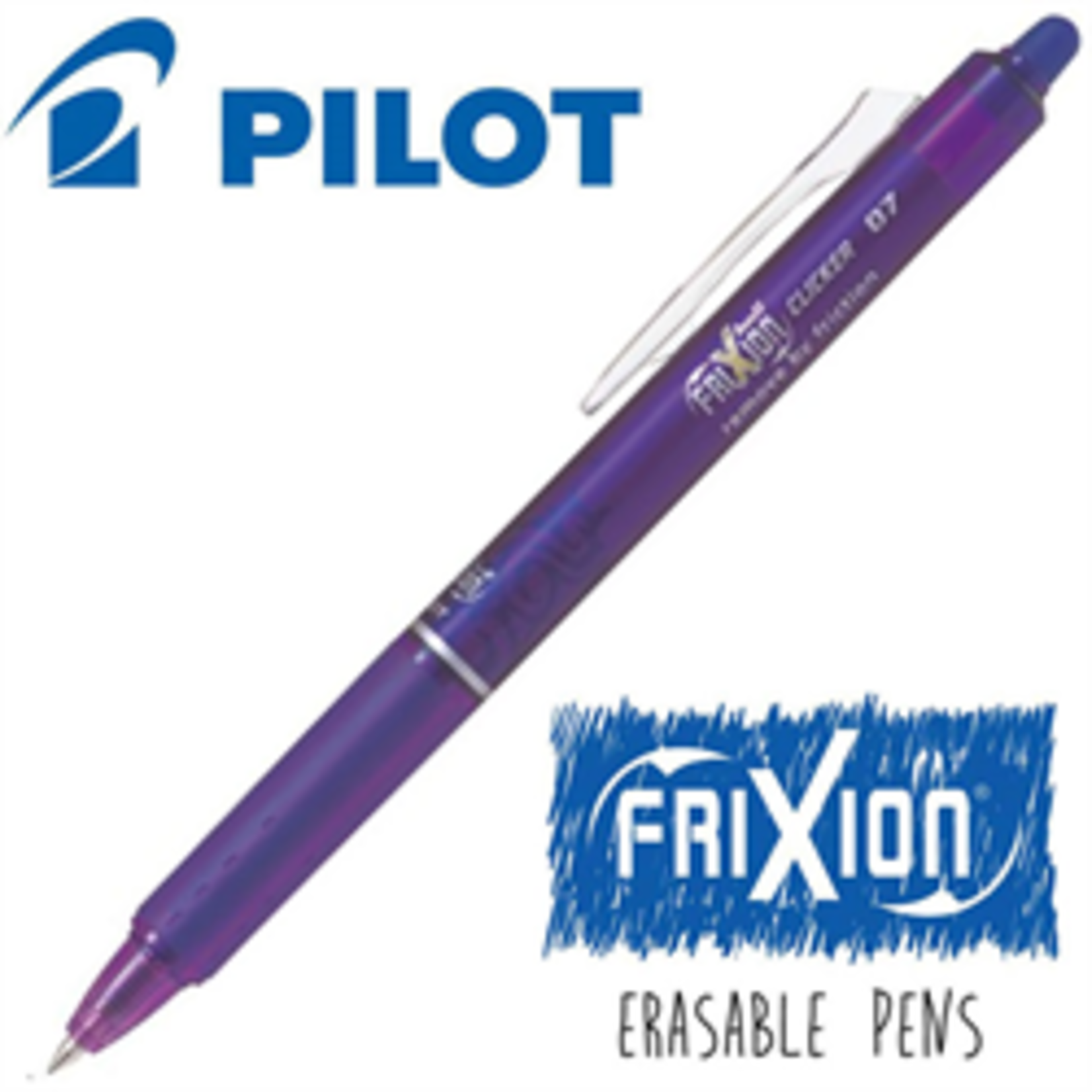 FRIXION FRIXION CLICK  - VIOLET/PURPLE