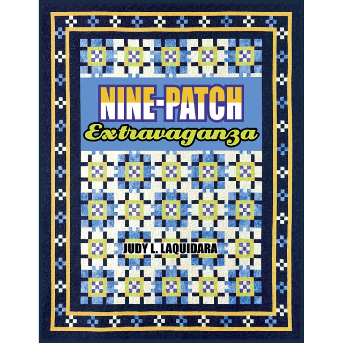 NINE-PATCH EXTRAVAGANZA BOOK