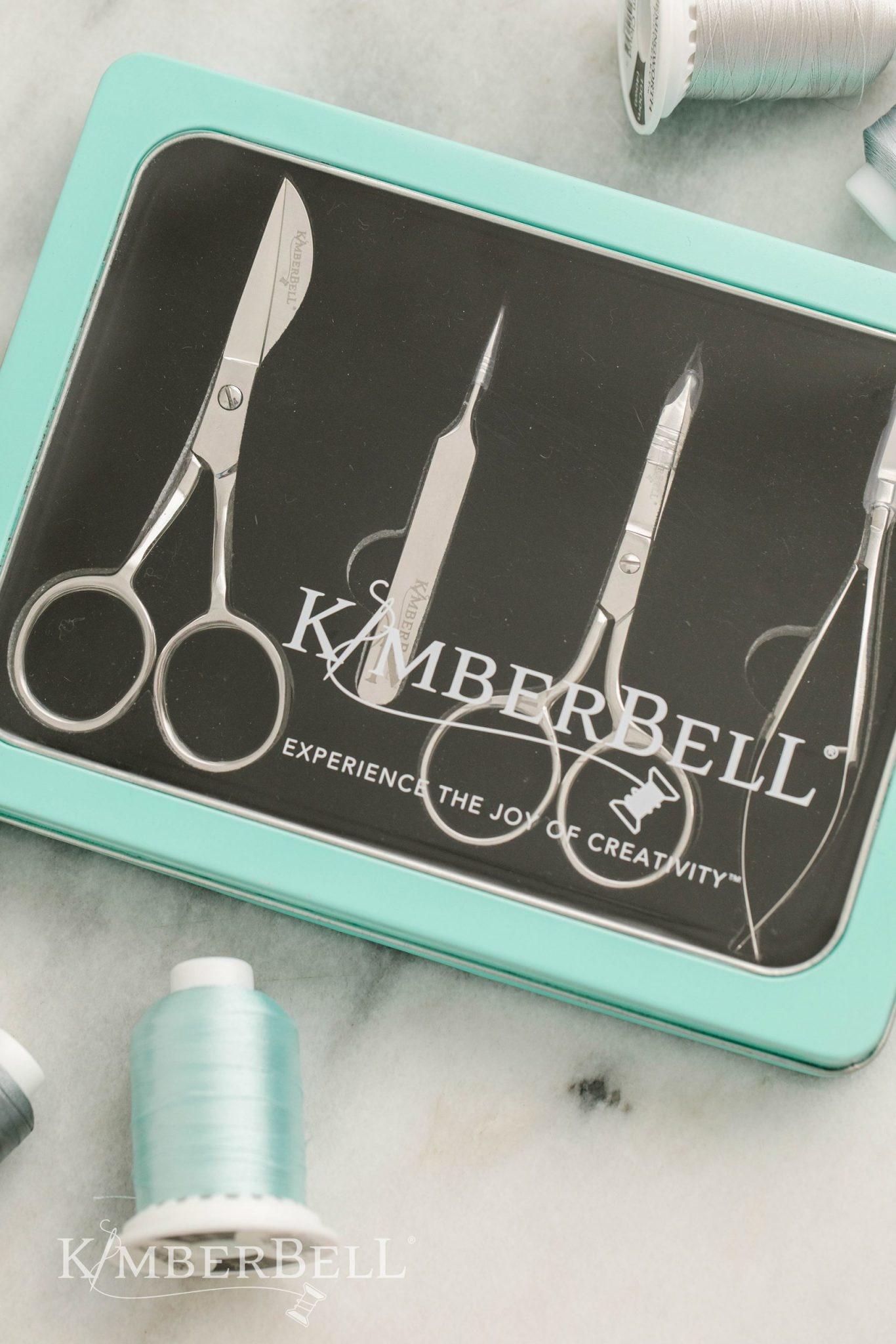 KIMBERBELL DESIGNS Deluxe Embroidery Scissor & Tool Set