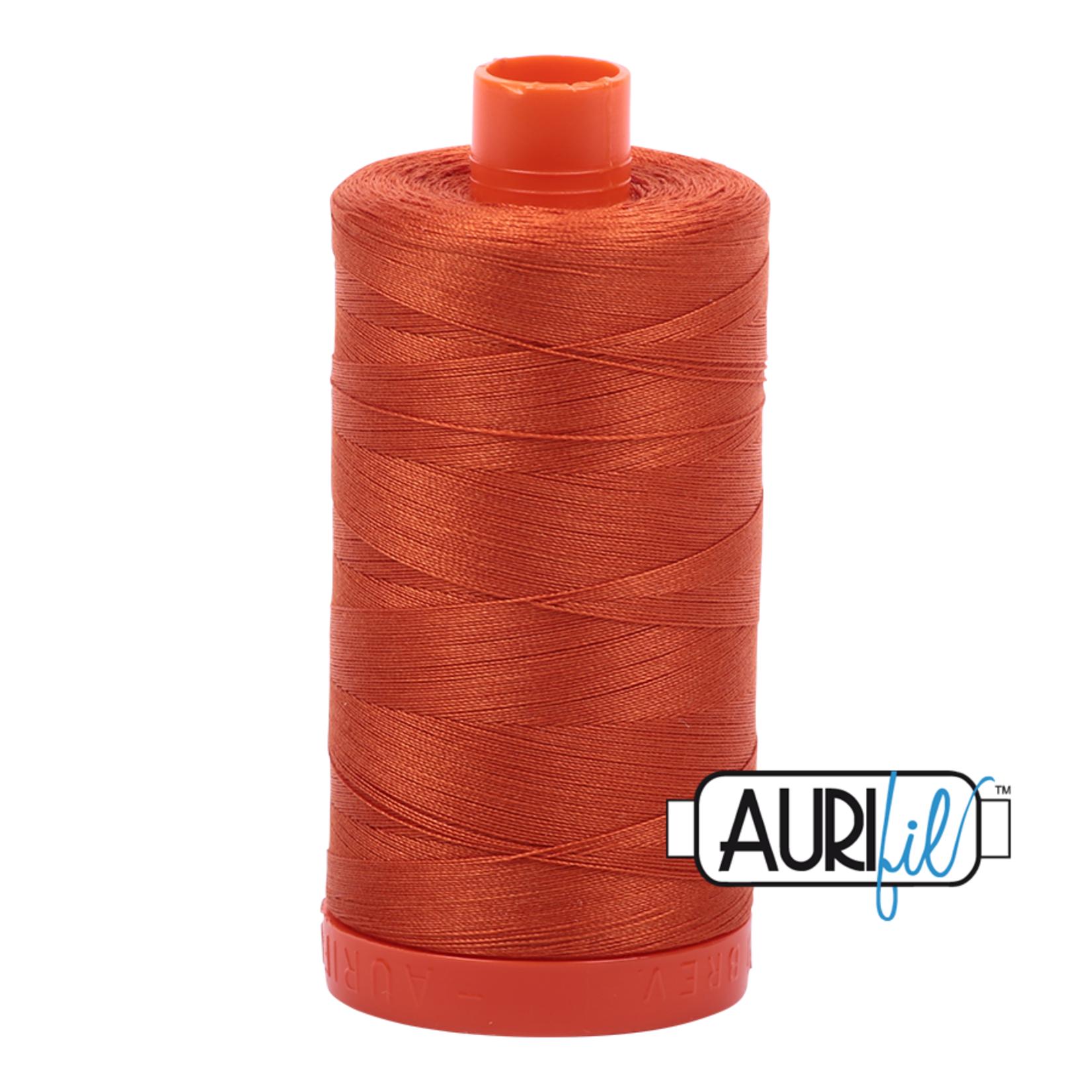 AURIFIL AURIFIL 50 WT Rusty Orange 2240