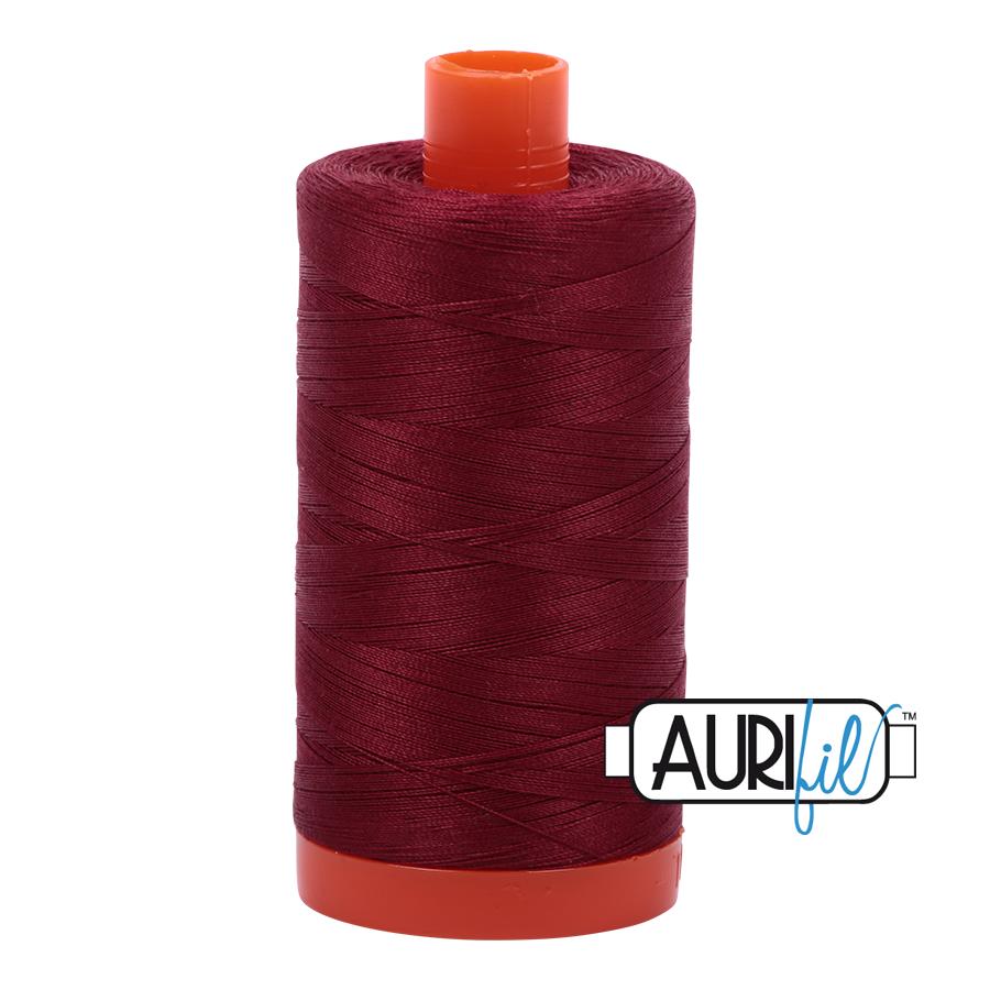 AURIFIL AURIFIL 50 WT Dark Carmine Red 2460