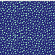 Clothworks FOREVER MAGIC, DAISIES, BLUE ON NAVY (3048-92) PER CM OR $20/M