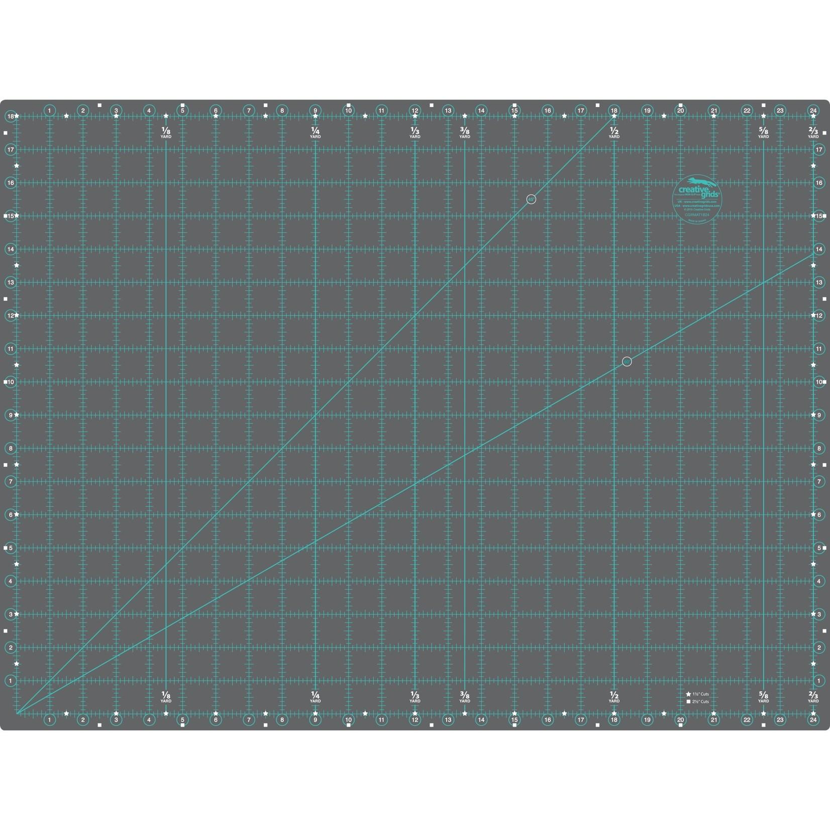 "Creative Grids CREATIVE GRIDS CUTTING MAT DBL. SIDED 24X36"" CGRMAT2436"