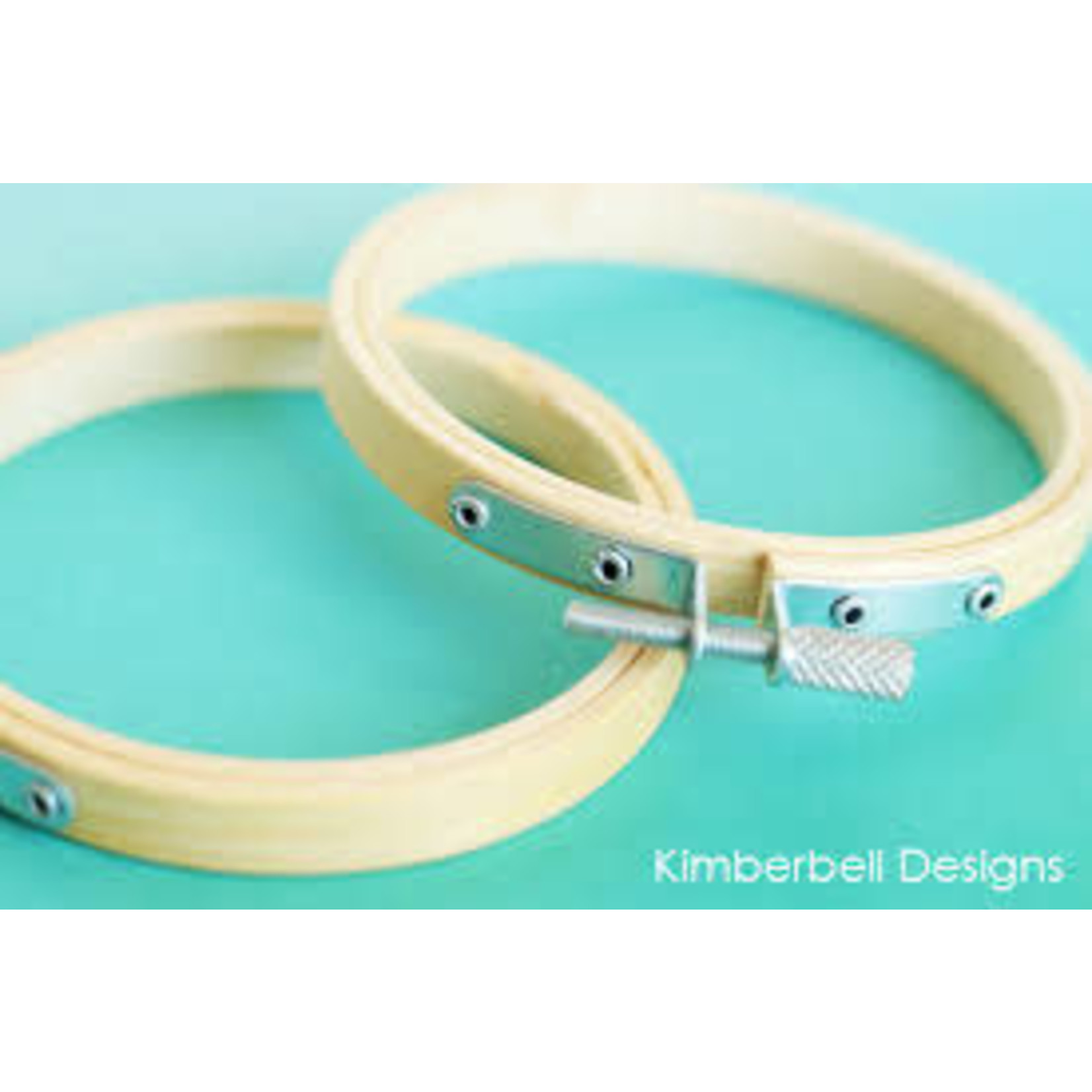 KIMBERBELL DESIGNS Bamboo Hoops Set of 2 3.5""