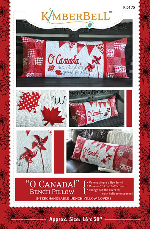 KIMBERBELL DESIGNS O Canada Bench Pillow Pattern