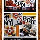 KIMBERBELL DESIGNS Halloween Boo Bench Pillow Pattern