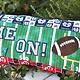 KIMBERBELL DESIGNS Game On! Football Bench Pillow