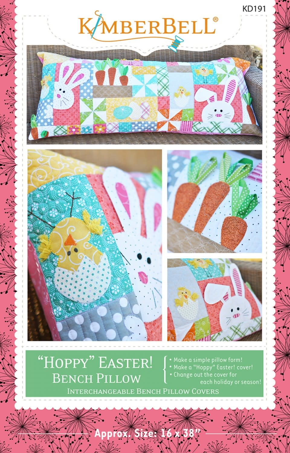 KIMBERBELL DESIGNS Hoppy Easter, Sewing