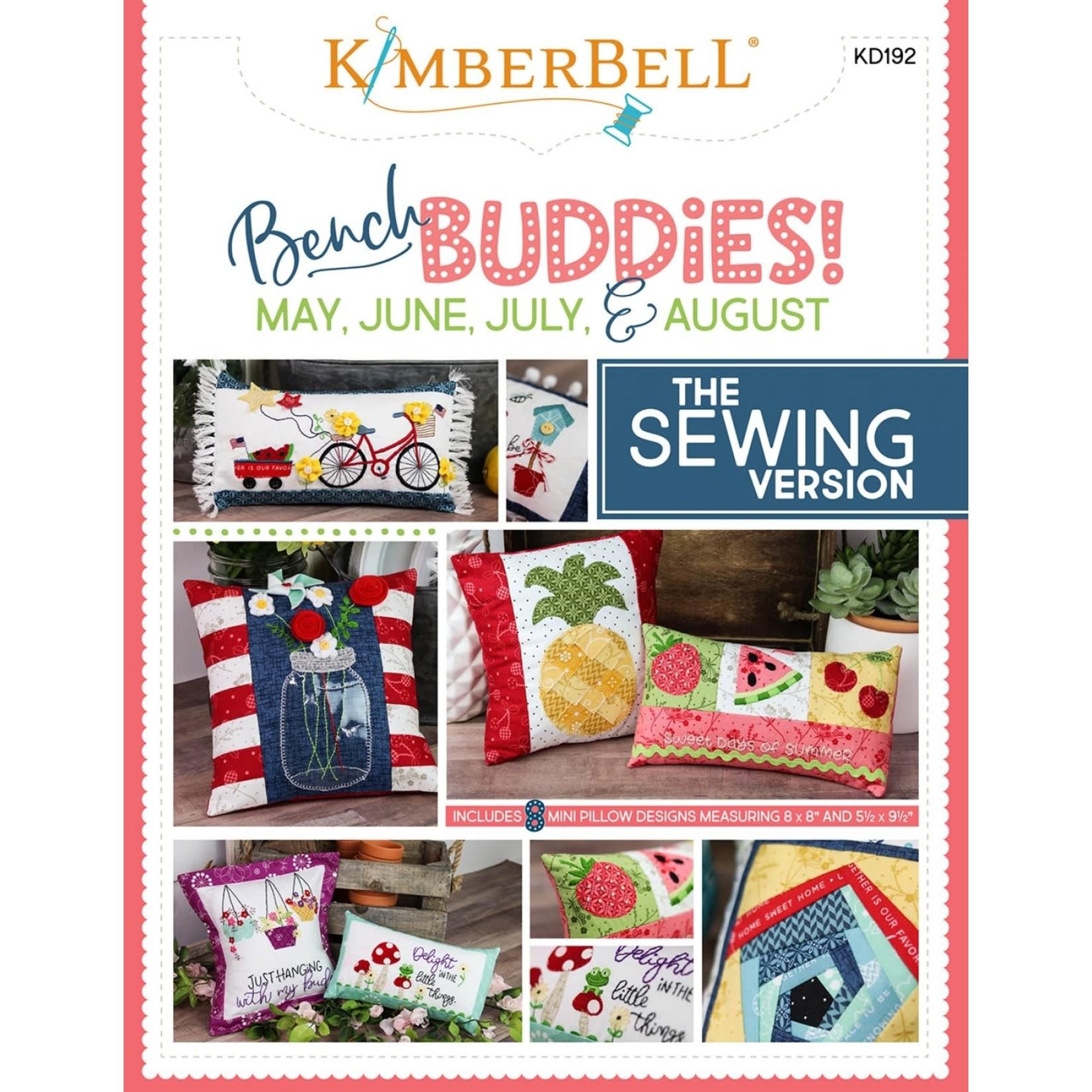 Kimberbell Designs Bench Buddies May, June, Jul, Aug Sewing Version