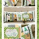 KIMBERBELL DESIGNS Luck O' the Gnomes Bench Pillow Sewing Version