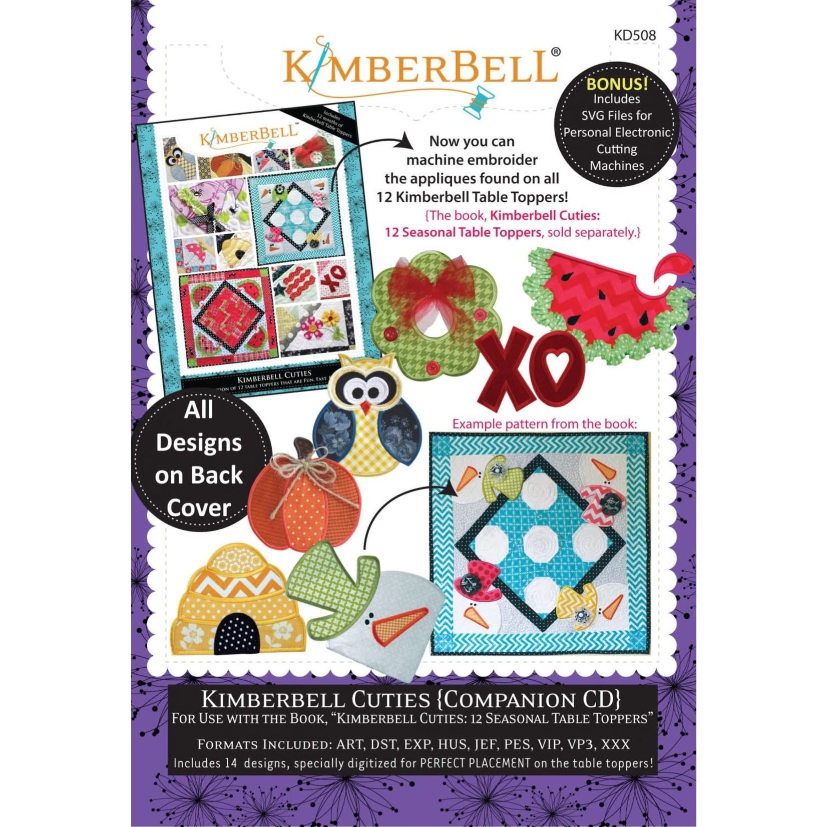 Kimberbell Designs Kimberbell Cuties: Companion Embroidery Designs CD