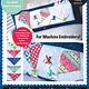 KIMBERBELL DESIGNS Let's Go Fly a Kite! Bench Pillow Machine Embroidery CD