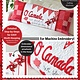 KIMBERBELL DESIGNS O, Canada! Bench Pillow Machine Embroidery CD