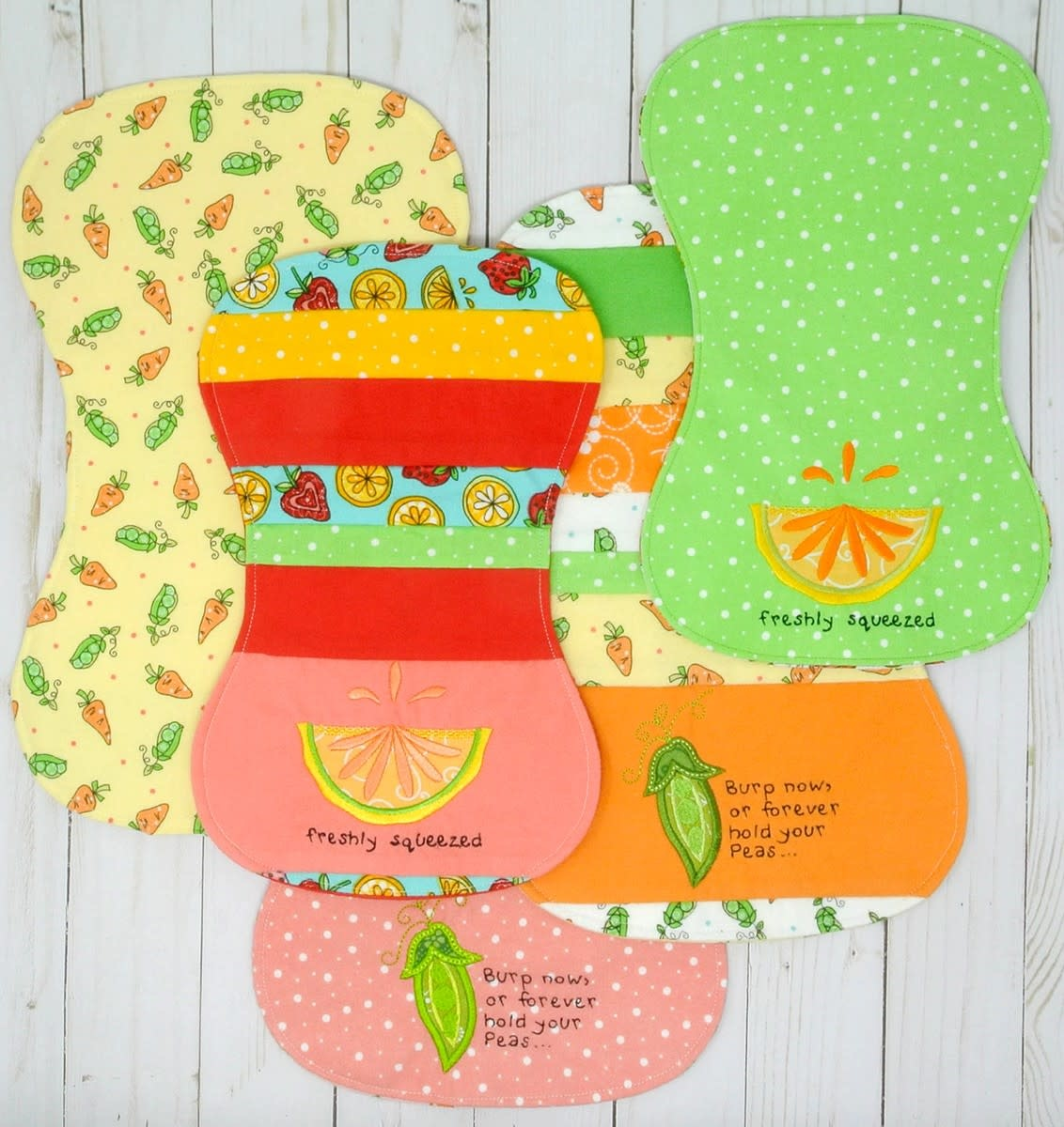 KIMBERBELL DESIGNS Lil' Sprout Baby Appliques & Burp Cloths Machine Embroidery CD