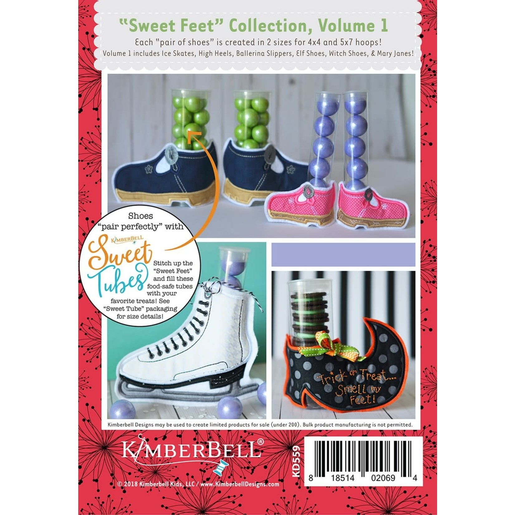 Kimberbell Designs Sweet Feet Collection V.1