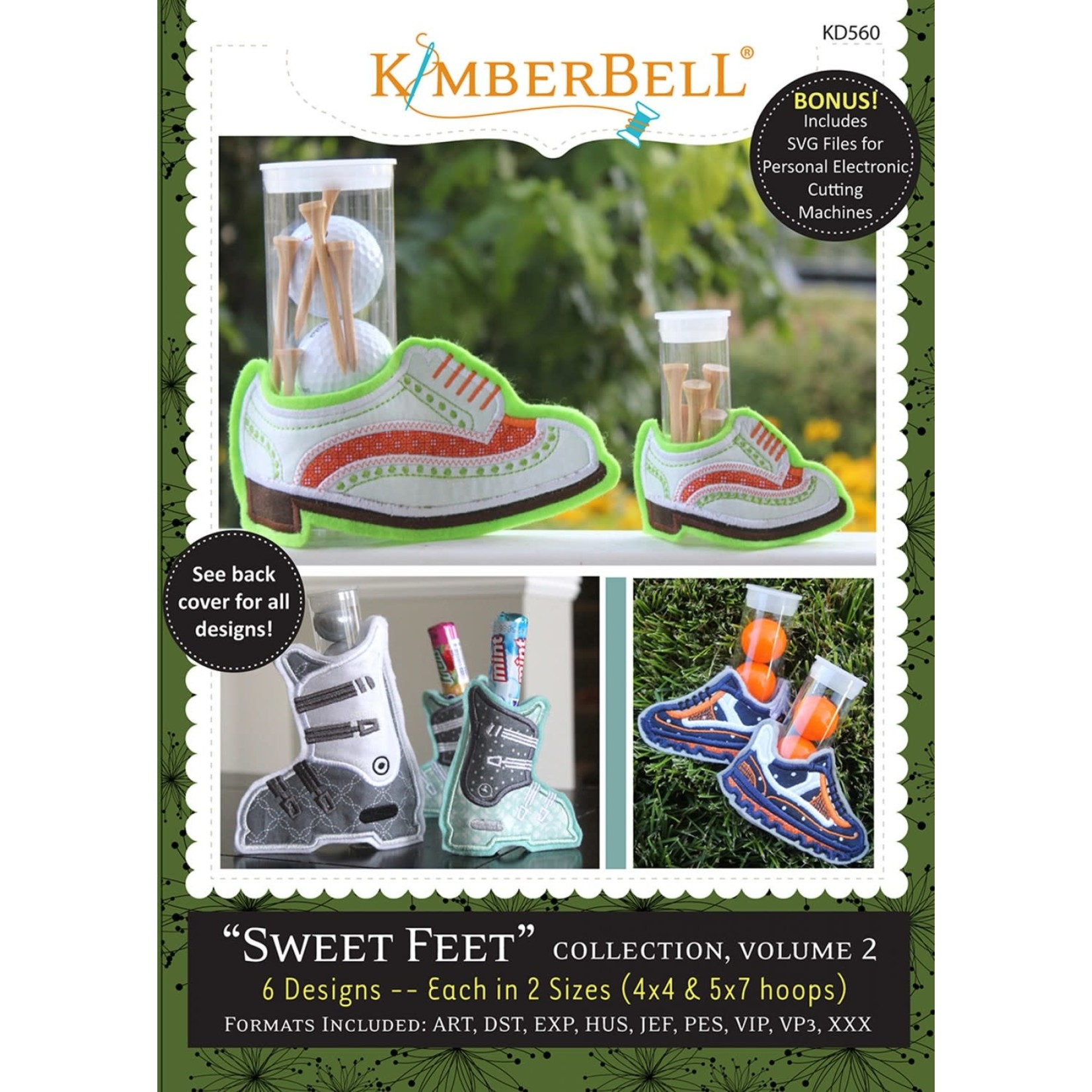 KIMBERBELL DESIGNS Sweet Feet: Volume 2