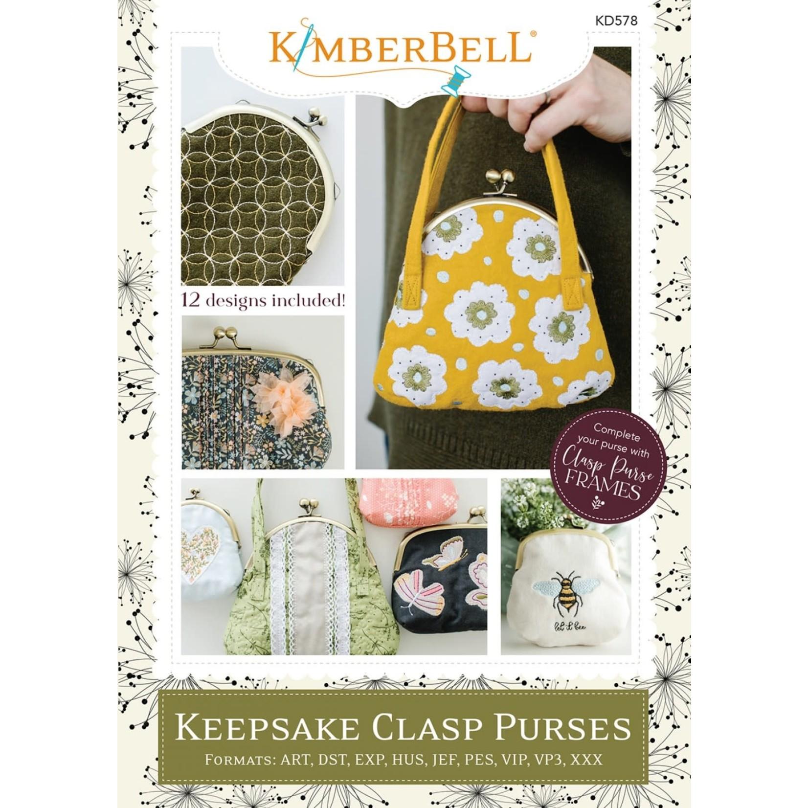 Kimberbell Designs Keepsake Clasp Purses