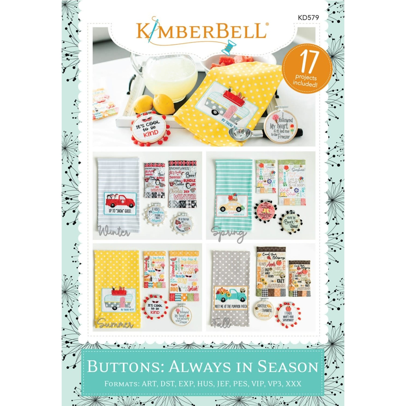 KIMBERBELL DESIGNS Buttons: Always in Seasons
