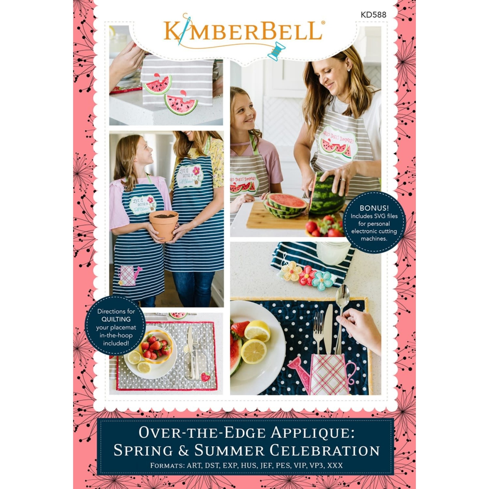 Kimberbell Designs Over-the-Edge Applique Designs, Vol 2