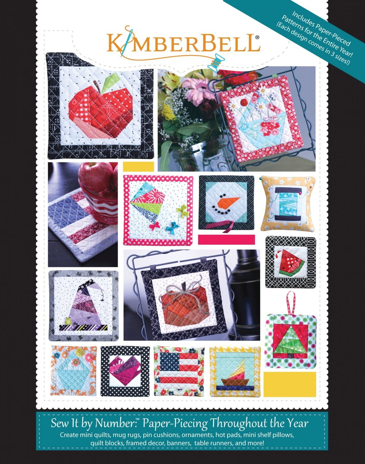 KIMBERBELL DESIGNS Sew It by Number Pattern Book