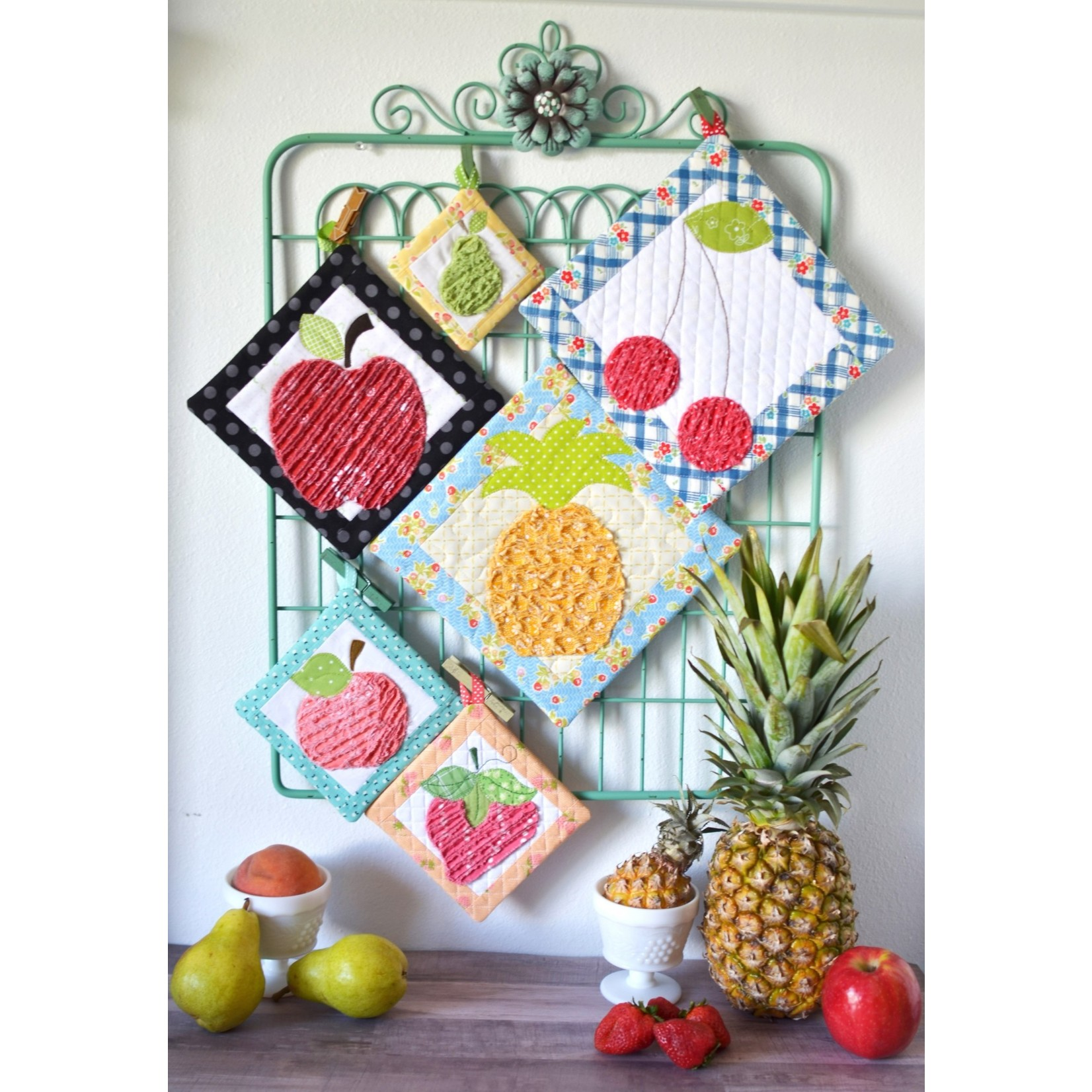 Kimberbell Designs That's Sew Chenille: Fruit Stand Hot Pads Pattern Booklet