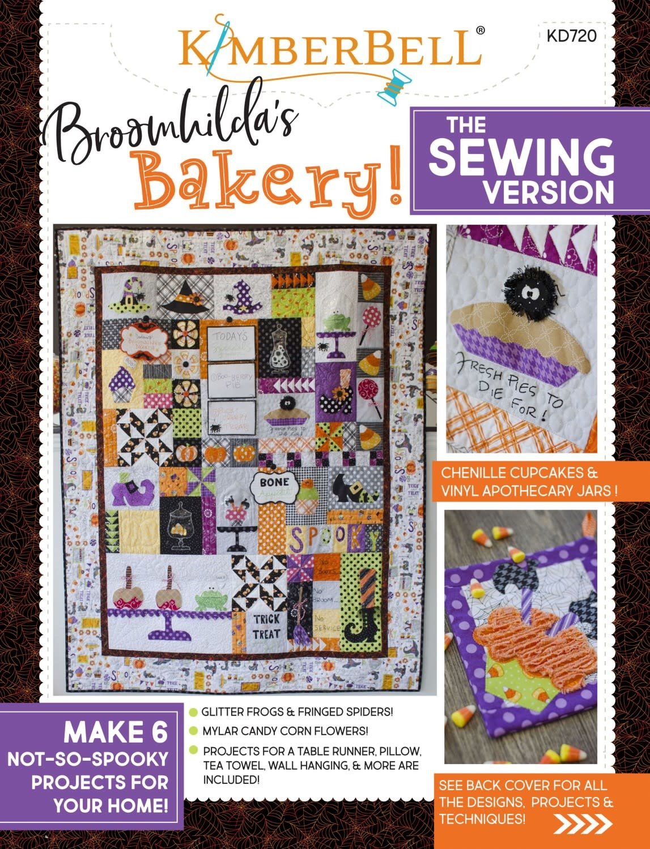 KIMBERBELL DESIGNS Broomhilda's Bakery Sewing Pattern Book