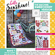 KIMBERBELL DESIGNS Hello Sunshine! Sewing Pattern Book and Machine Embroidery Design CD