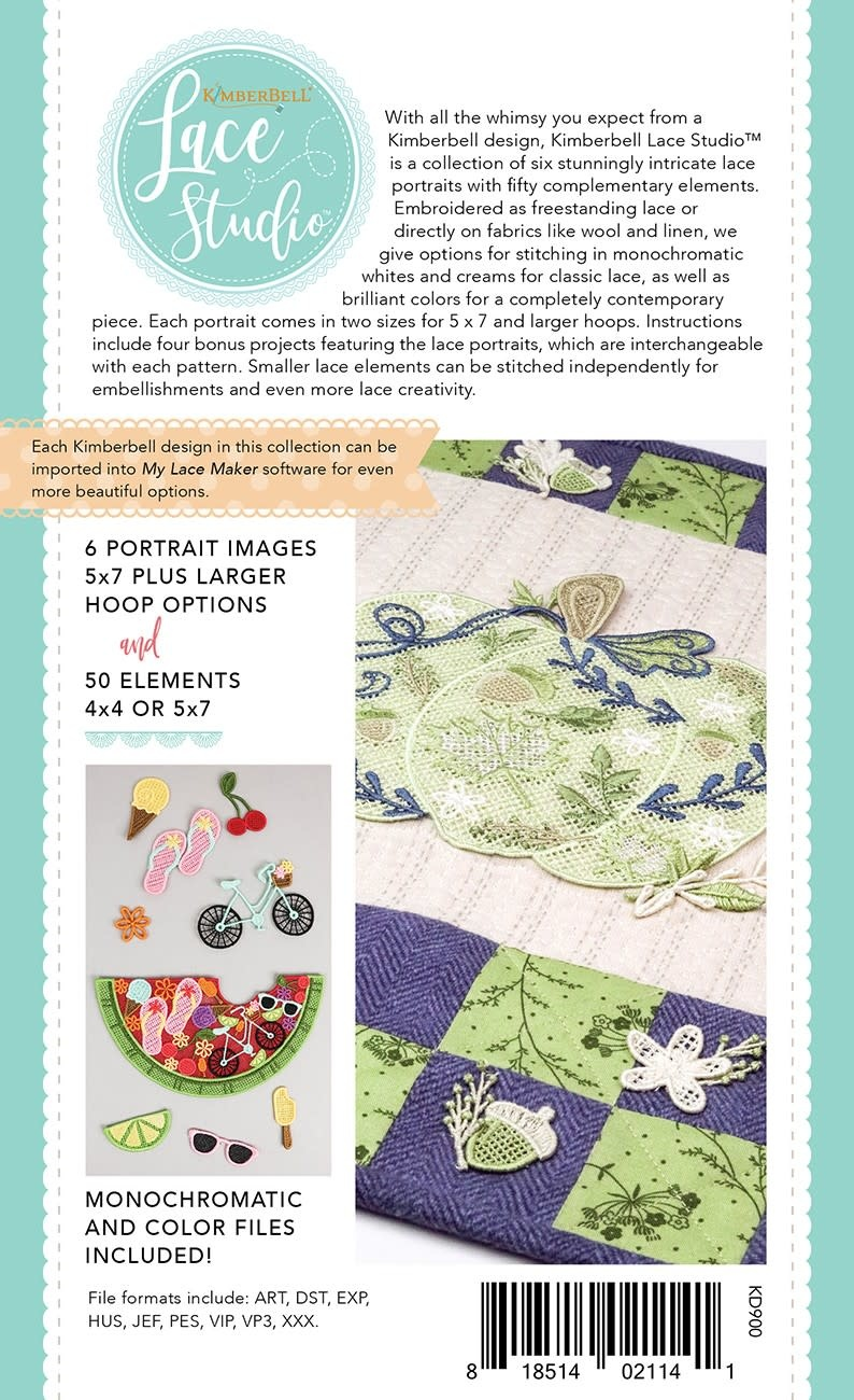 KIMBERBELL DESIGNS Kimberbell Lace Studio; Holidays & Seasons,  Volume 1