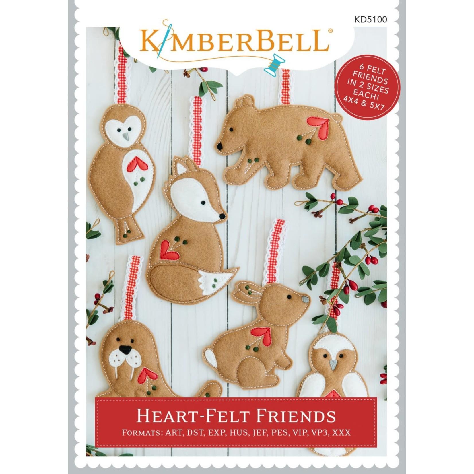 KIMBERBELL DESIGNS Heart-Felt Friends