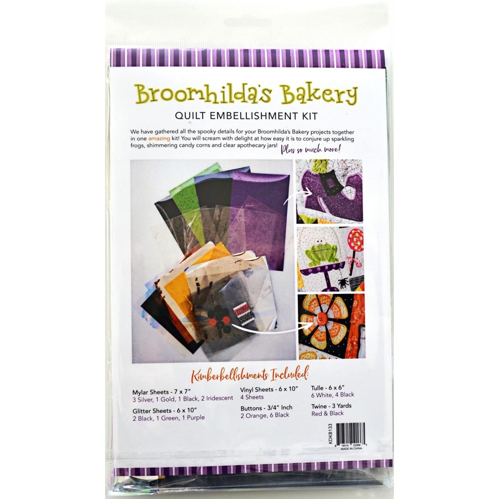 Kimberbell Designs Broomhilda's Bakery Embellishment Kit