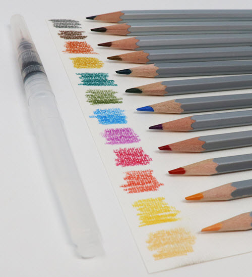 KIMBERBELL DESIGNS Watercolor Pencil Set: Jewel Tone