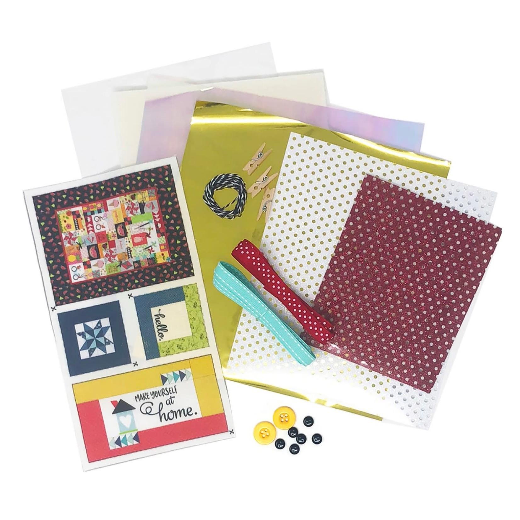 KIMBERBELL DESIGNS Make Yourself at Home Embellishment Kit