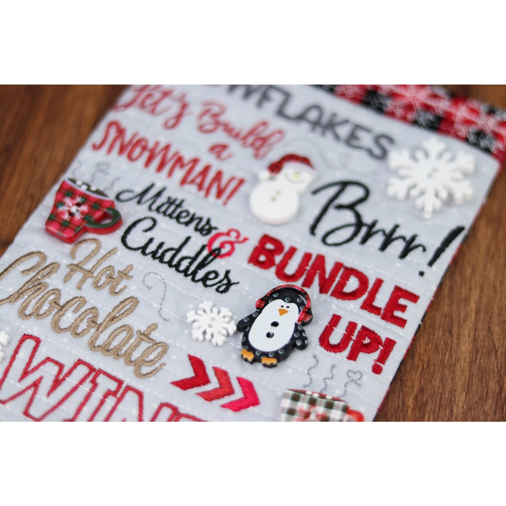 Kimberbell Designs Cozy Winter Buttons