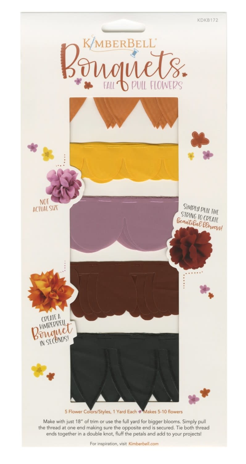 KIMBERBELL DESIGNS Pull Flowers - Fall Bouquet