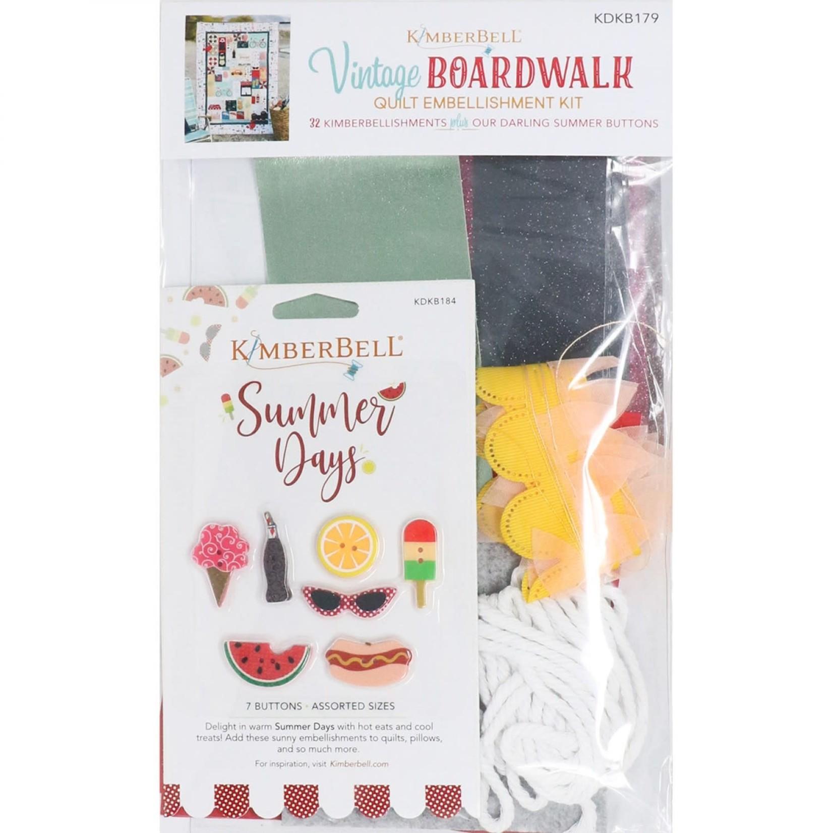 Kimberbell Designs Vintage Boardwalk Embellishment Kit