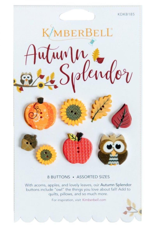 KIMBERBELL DESIGNS Autumn Splendor Buttons