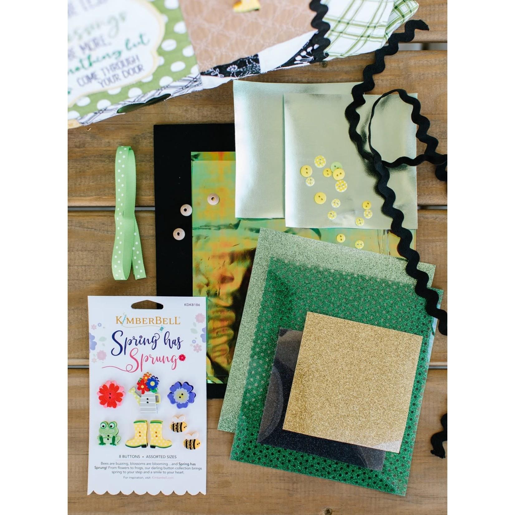 Kimberbell Designs Luck O' the Gnome Embellishment Kit