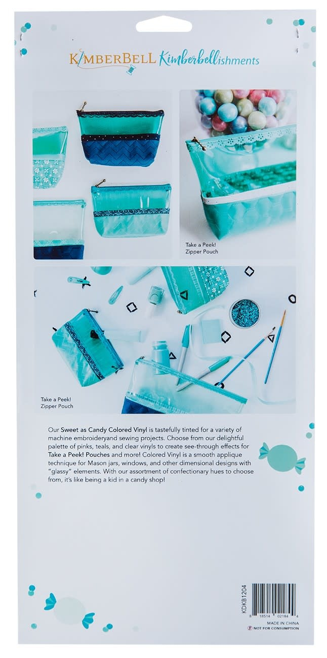 KIMBERBELL DESIGNS Sweet as Candy Colored Vinyls:  Blues