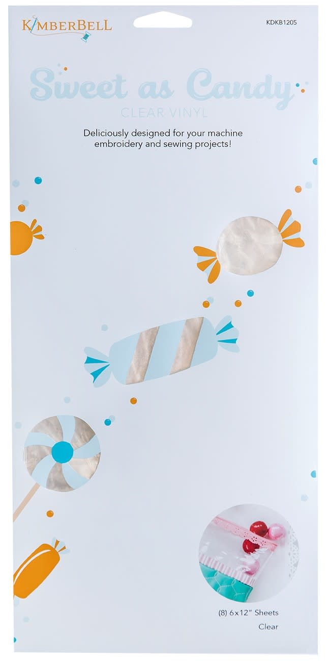 KIMBERBELL DESIGNS Sweet as Candy Clear Vinyl