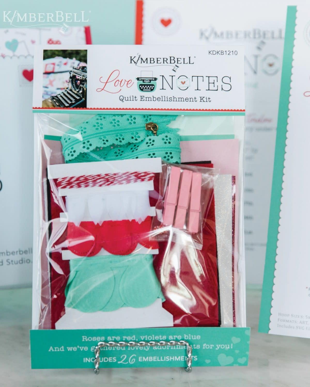 KIMBERBELL DESIGNS Love Notes Embellishment Kit