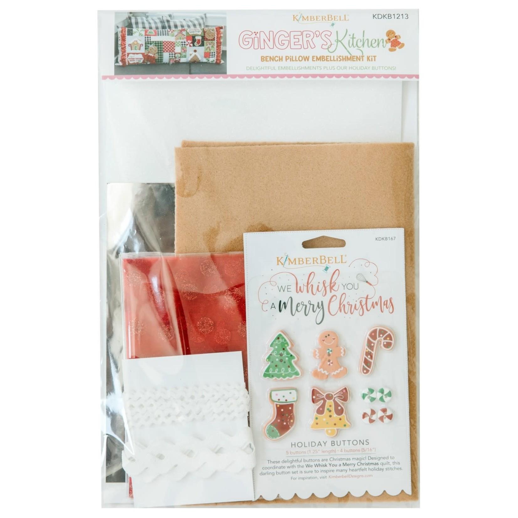 KIMBERBELL DESIGNS Ginger's Kitchen Embellishment Kit