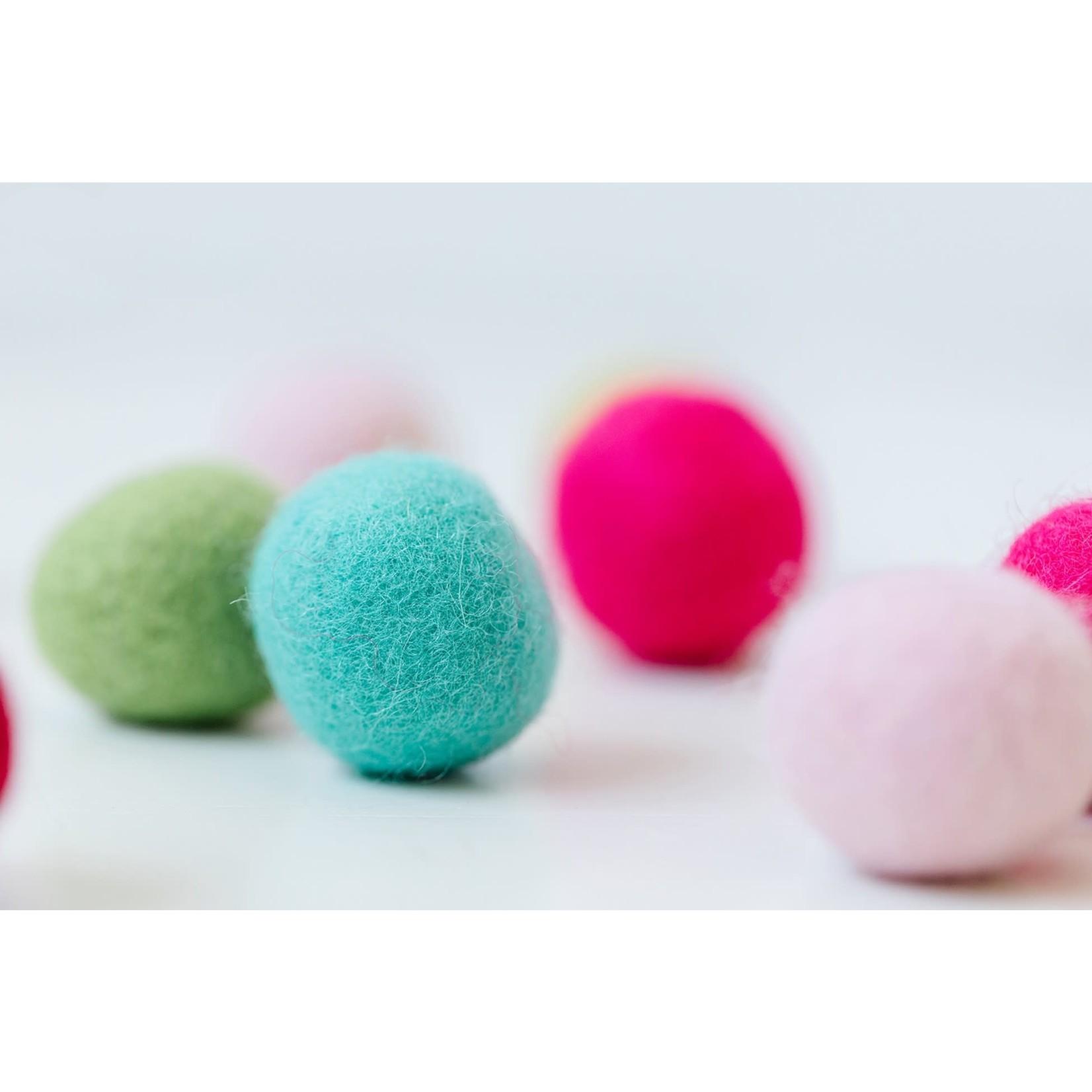 Kimberbell Designs Sugar Plum Jubilee Wool Felt Balls