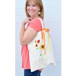 KIMBERBELL DESIGNS Open-Side Canvas Tote Blank