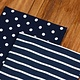 KIMBERBELL DESIGNS Dots & Stripes Tea Towels:  Navy