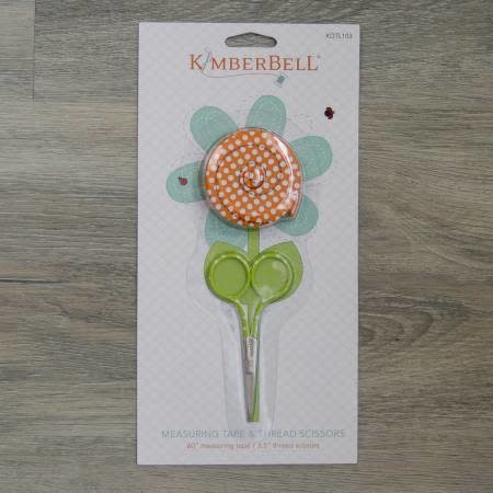 KIMBERBELL DESIGNS Measuring Tape and Scissors