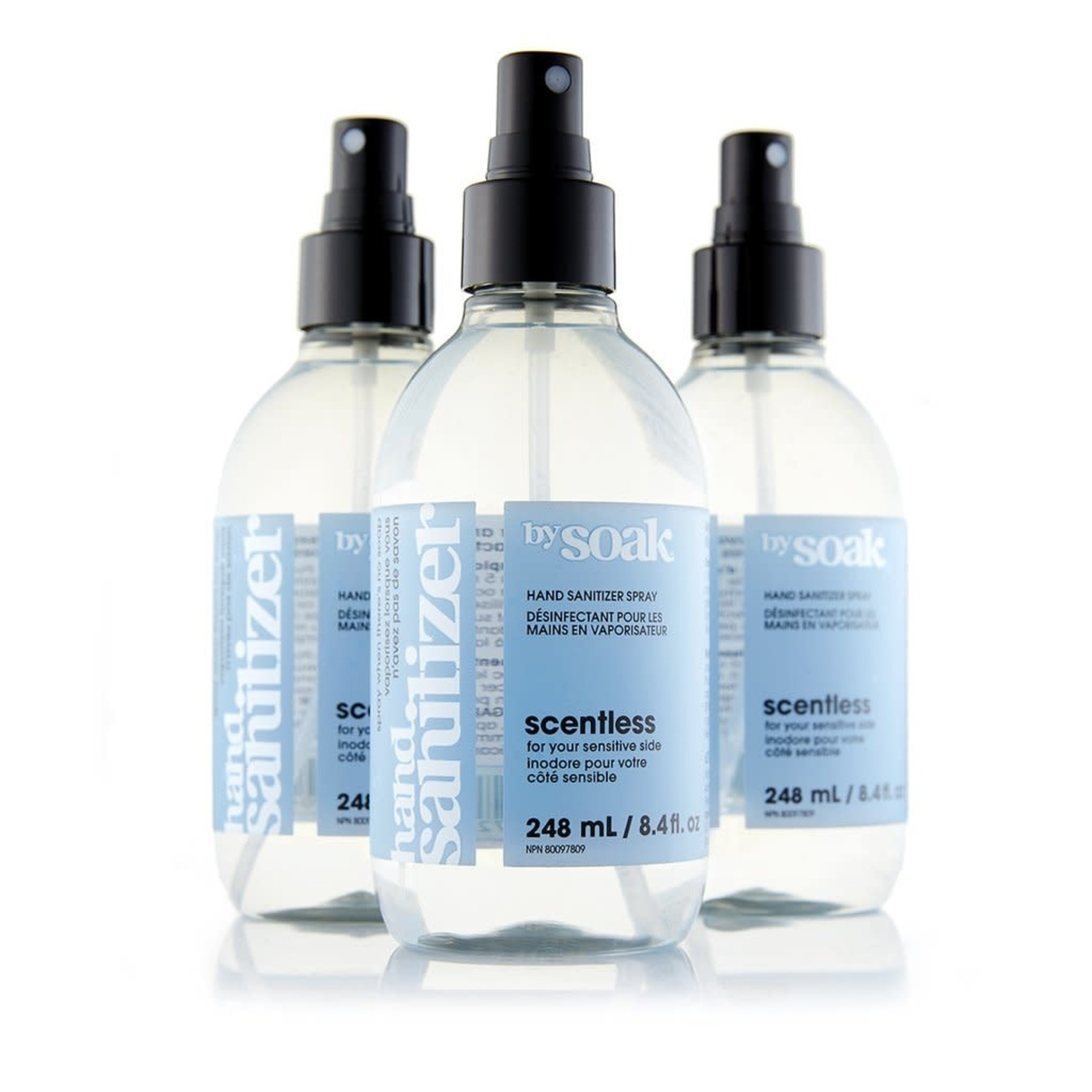 SOAK WASH Hand Sanitizer by Soak 8oz 248 ml x 3 Bottles