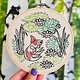 Hook Line and Tinker Gild the Lily Complete Embroidery Kit